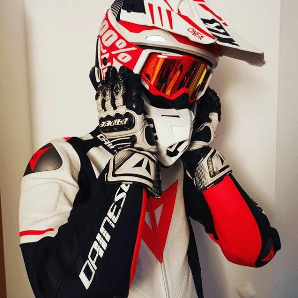 """Gast #3 """"Ledercrossbiker"""""""